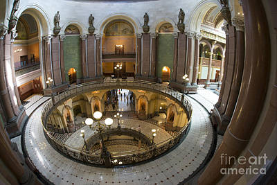 Photograph - Illinois Capitol - 3 by David Bearden