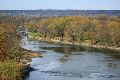 Photograph - Illinois River At Starved Rock by Joni Eskridge
