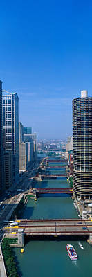 Pleasure Photograph - Illinois River, Chicago, Illinois by Panoramic Images