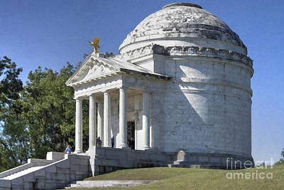 Photograph - Illinois State Memorial by Liane Wright