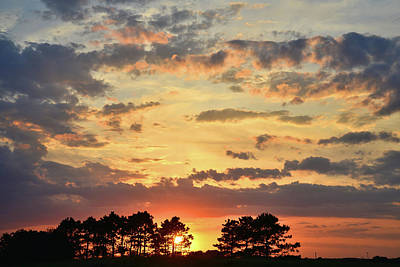 Photograph - Illinois Sunset by Ray Mathis