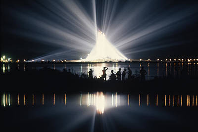 In The Spotlight Photograph - Illuminated By Spotlights, Apollo II by Otis Imboden
