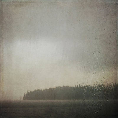 Photograph - Illuminated Rain by Sally Banfill