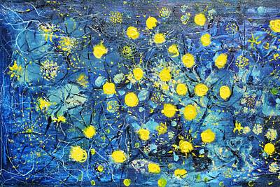 Painting - Illumination by Evelina Popilian