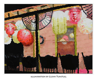 Painting - Illumination Poster by Glenn Tunstull