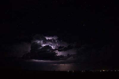 Lightshow Photograph - Illumination by Michelle Farrow
