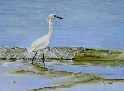 Topsail Island Painting - Illumination by Phyllis Beiser