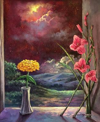 Painting - Illumination by Randy Burns