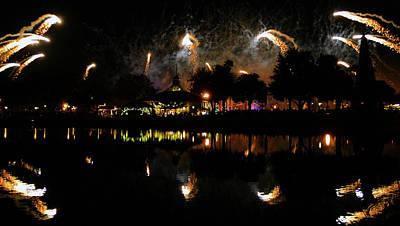Photograph - Illuminations Fireworks by David Lee Thompson