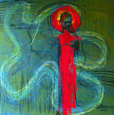 Illusion Art Print by Erika Brown