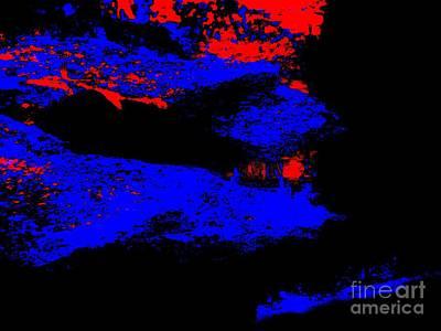 Illusional Abstract Art Print