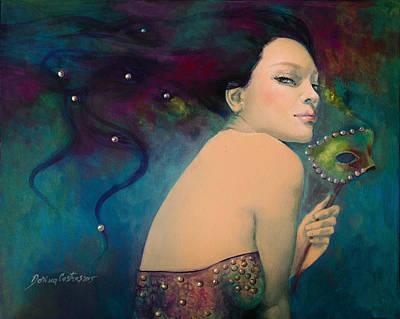 Painting - Illusory by Dorina  Costras