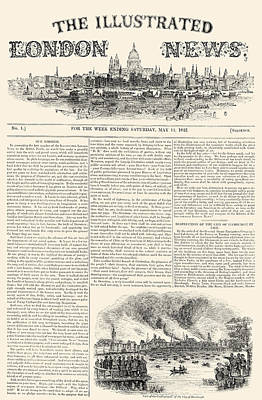 Photograph - Illustrated London News by Granger
