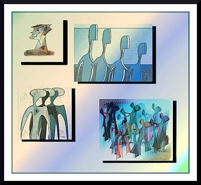 Digital Art - Illustrations by Iris Gelbart