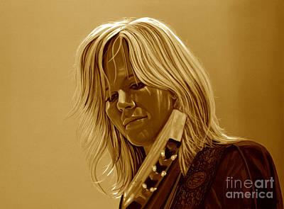 Ilse Delange Of The Common Linnets Art Print
