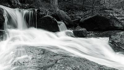 Photograph - Ilse, Harz - Monochrome Version by Andreas Levi
