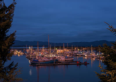 Photograph - Ilwaco Twilight by Robert Potts