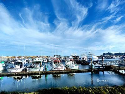 Photograph - Ilwaco Washington Marina by Sadie Reneau