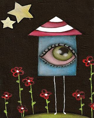 Painting - Im A House by  Abril Andrade Griffith