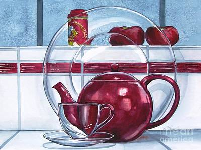 Painting - I'm A Little Teapot by Jane Loveall