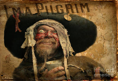 Photograph - I'm A Pilgrim by Kira Bodensted