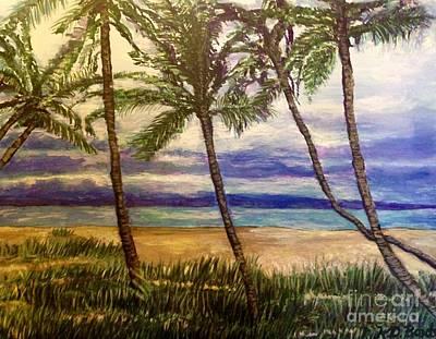 I'm Dreaming Of Island Breezes Original by Kimberlee Baxter