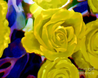 Painting - I'm Dreaming Of Soft Summer Roses  by Kimberlee Baxter