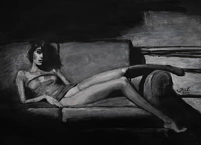 Painting - I'm In Here by Jarko Aka Lui Grande