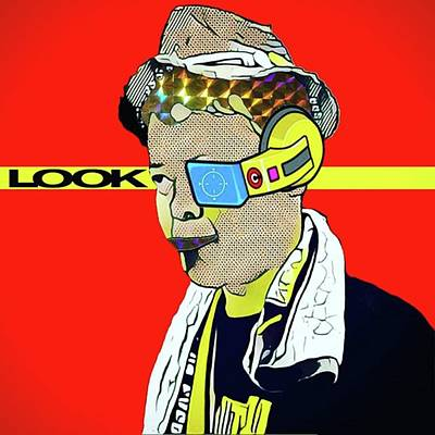 Pop Art Wall Art - Photograph - I'm Just Looking Around. #アート by Takashi Nishimura