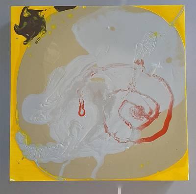 Painting - I'm Just Sooo Swirly  by Gyula Julian Lovas