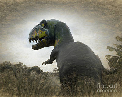 Photograph - I'm Looking For You _ T Rex by Scott Cameron