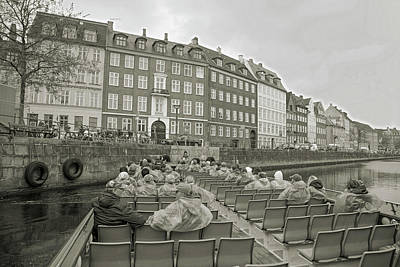Quiet Time Corner Photograph - I'm Not A Tourist In Nyhavn by Betsy Knapp