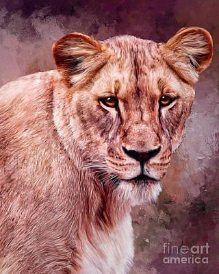 Painting - I'm Not Lion  by Tara Richardson