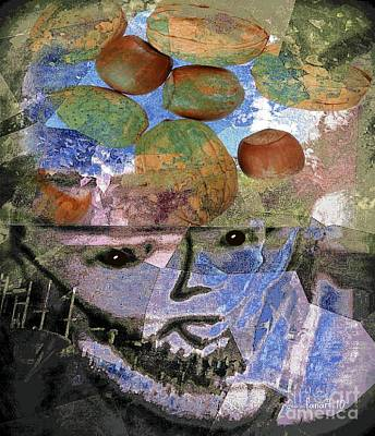 Mixed Media - I'm Nuts For You by Fania Simon