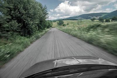 Virginia Photograph - I'm On My Way by Betsy Knapp