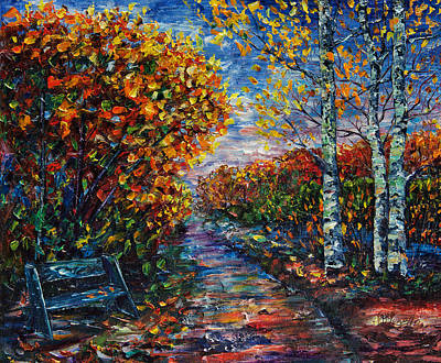 Painting - I'm On My Way by OLena Art Brand