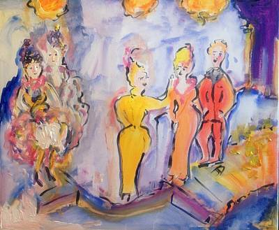 Painting - Im Sure You Cancan by Judith Desrosiers