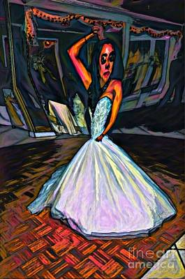 Mixed Media Royalty Free Images - Im the Princess Royalty-Free Image by F Schiele