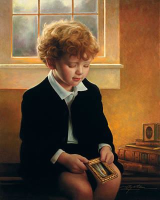 Boy Wall Art - Painting - I'm Trying To Be Like Jesus by Greg Olsen