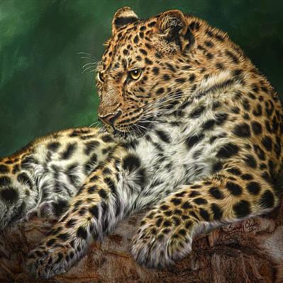 Cheetah Digital Art - I'm Watching by Sandy Oman