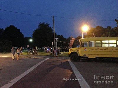 Photograph - Image Included In Queen The Novel - Beansie Bus Waterfront Park by Felipe Adan Lerma