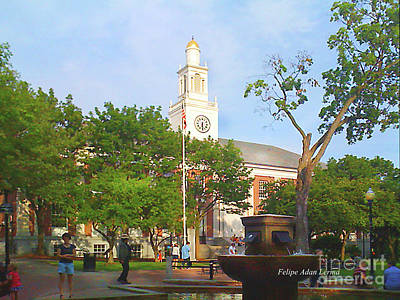 Photograph - Image Included In Queen The Novel - City Hall Park by Felipe Adan Lerma
