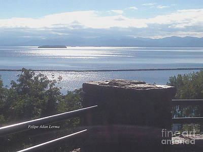 Soap Suds - Image Included in Queen the Novel - Outlook Point Battery Park Vermont by Felipe Adan Lerma