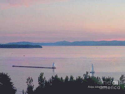 Photograph - Image Included In Queen The Novel - Soft Sunset Enhanced by Felipe Adan Lerma