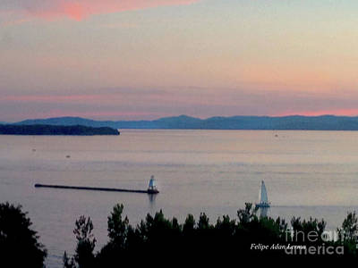 Photograph - Image Included In Queen The Novel - Soft Sunset by Felipe Adan Lerma
