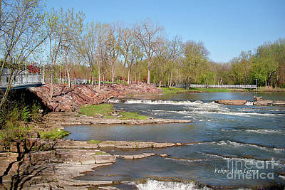 Photograph - Image Included In Queen The Novel - Winooski River Rocks 21of74 by Felipe Adan Lerma