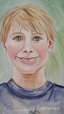 Painting - Image Of Painting Alex by Oksana Semenchenko