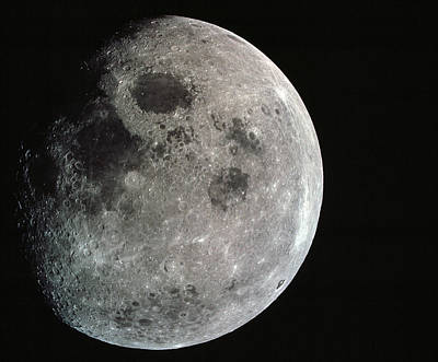 Photograph - Image Of The Moon by Space Photography