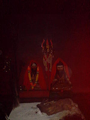 Ashram Wall Art - Photograph - Images Of Gurus by Lalitmohan Khungar