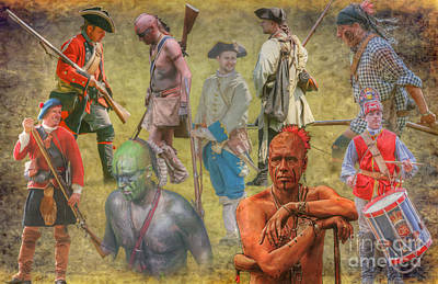 Digital Art - Images Of The French And Indian War by Randy Steele